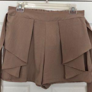 Ya Los Angeles Taupe Shorts